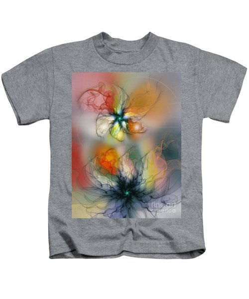 The Lightness Of Being-abstract Art Kids T-Shirt