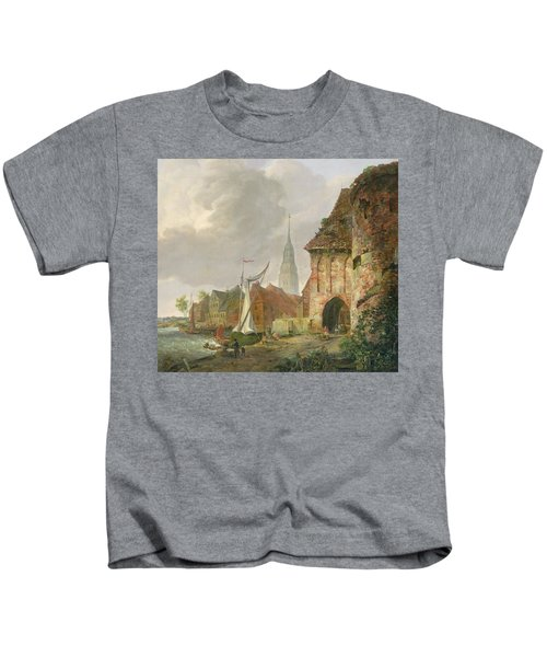 The March Gate In Buxtehude Kids T-Shirt