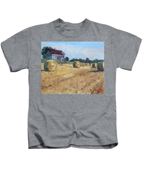 The Old Barns In Georgetown On Kids T-Shirt