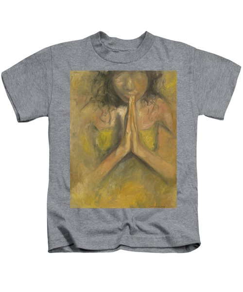 The Power Of Prayer - Blind Faith Kids T-Shirt