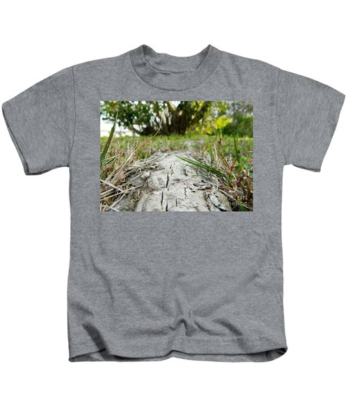 The Root Of Happiness Kids T-Shirt