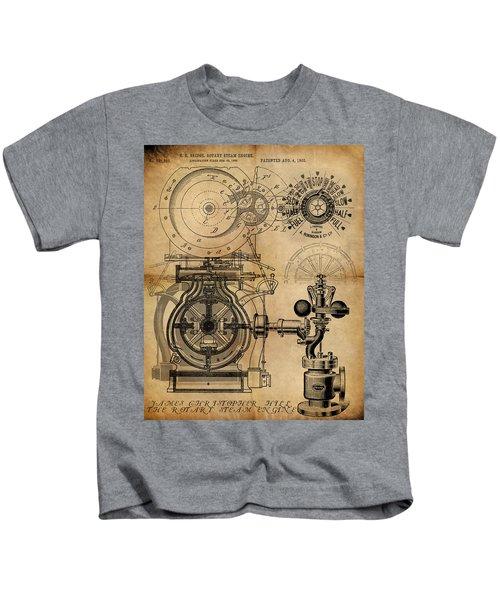 The Rotary Engine Kids T-Shirt