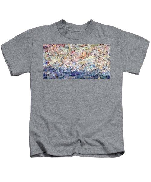 Fragmented Sea Kids T-Shirt