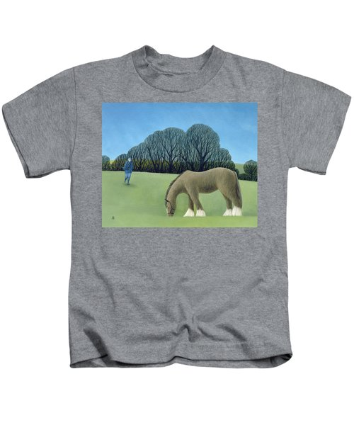 The Shire Horse, 2006 Oil On Canvas Kids T-Shirt