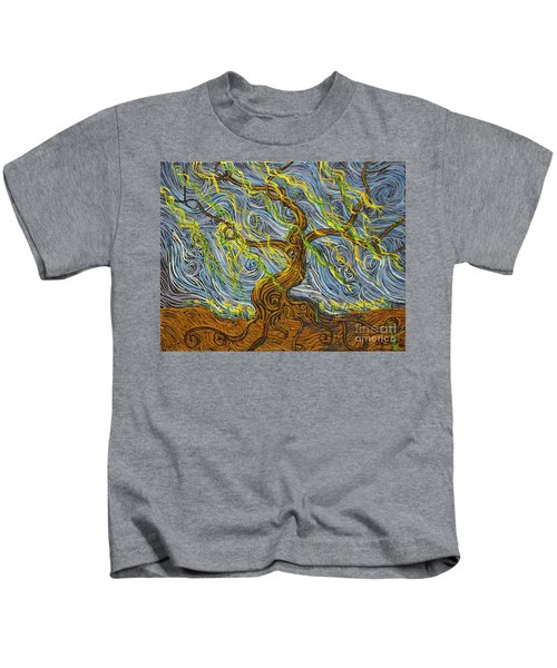 The Tree Have Eyes Kids T-Shirt