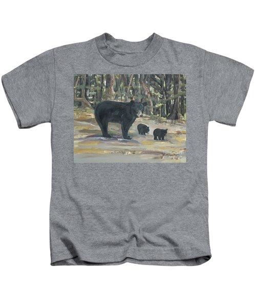Cubs - Bears - Goldilocks And The Three Bears Kids T-Shirt