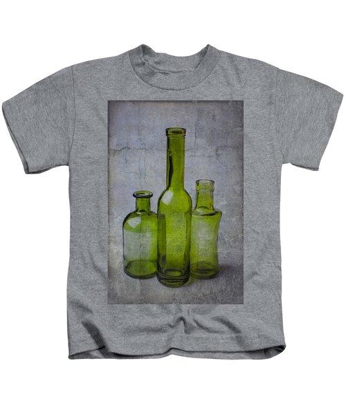 Three Green Bottles Kids T-Shirt