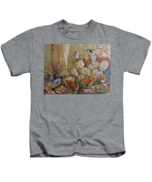 Three Little Javelinas Kids T-Shirt