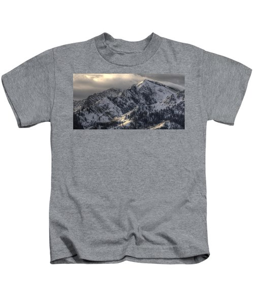 Thurston Peak Pano Kids T-Shirt