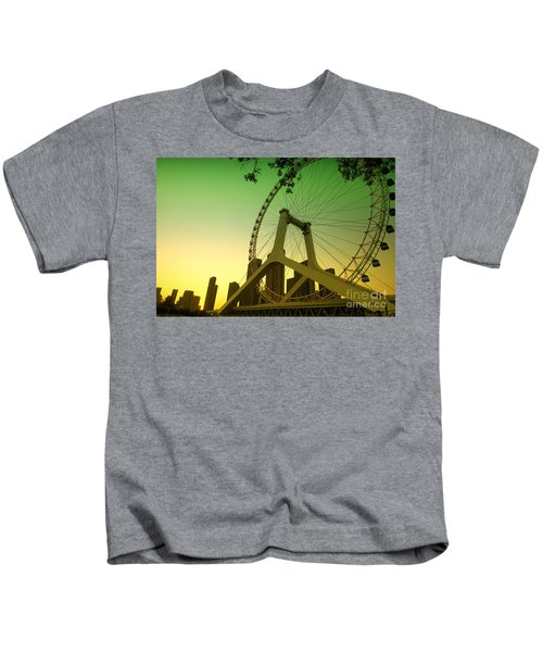 Tianjin Eye  Kids T-Shirt