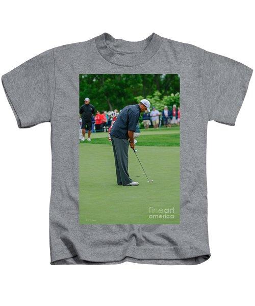 D12w-457 Tiger Woods Kids T-Shirt