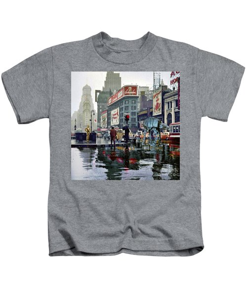 Times Square 1943 Reloaded Kids T-Shirt