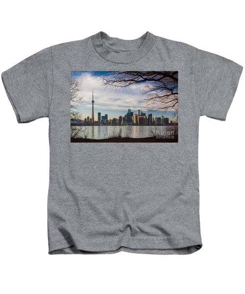 Toronto Through The Trees Kids T-Shirt