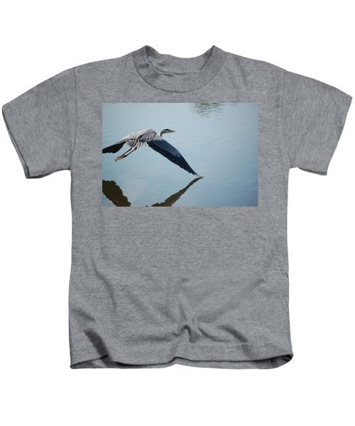 Touch The Water With A Wing Kids T-Shirt