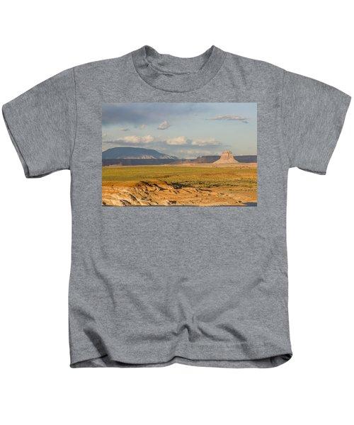Tower Butte View Kids T-Shirt