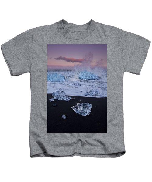 Trail Of Diamonds Kids T-Shirt