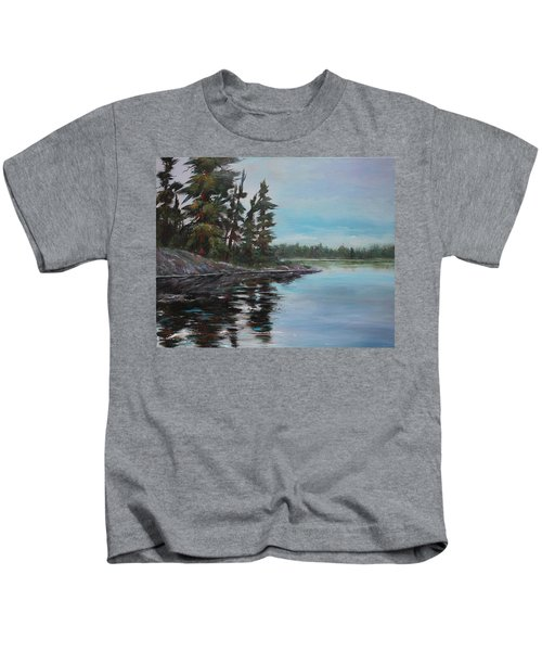 Tranquil Bay Kids T-Shirt