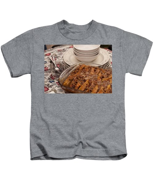 Tray Of Baked French Toast Kids T-Shirt