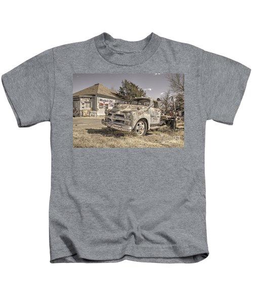Tucumcari Tow Truck Kids T-Shirt