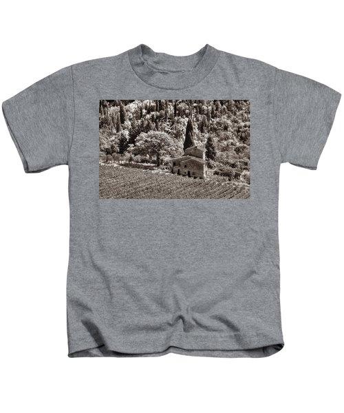 Tuscan Vinyard Kids T-Shirt