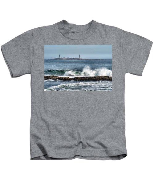 Twin Lights Kids T-Shirt