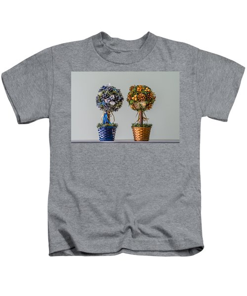 Twin Trees Kids T-Shirt