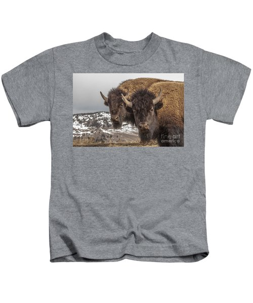 Two Bison Kids T-Shirt