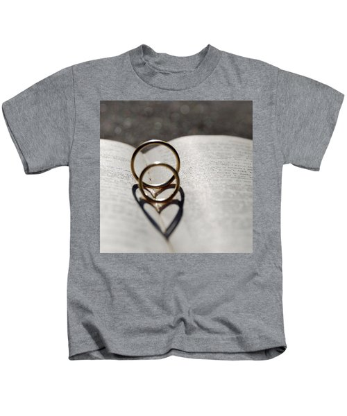 Two Hearts As One Kids T-Shirt