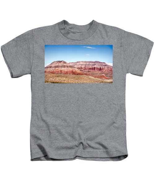 Two Layered Mountains Kids T-Shirt