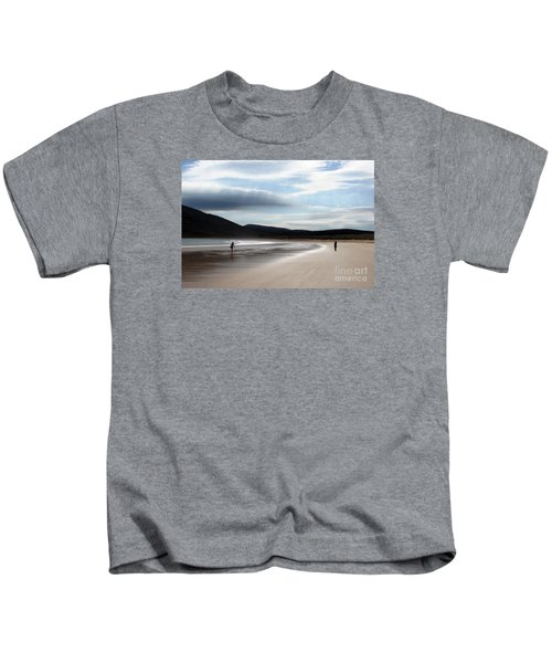 Two On A Beach Kids T-Shirt