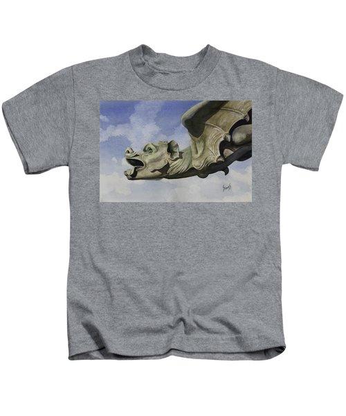 Ulmer Munster Gargoyle Kids T-Shirt