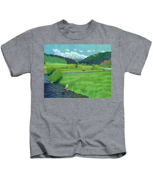Upper Bear Creek Colorado Kids T-Shirt