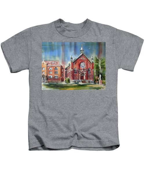 Ursuline Academy With Doves Kids T-Shirt