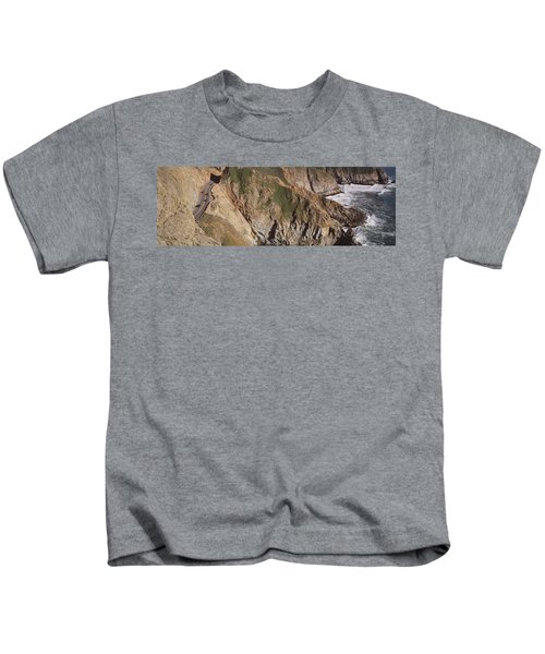 Usa, California, Big Sur, Pacific Coast Kids T-Shirt