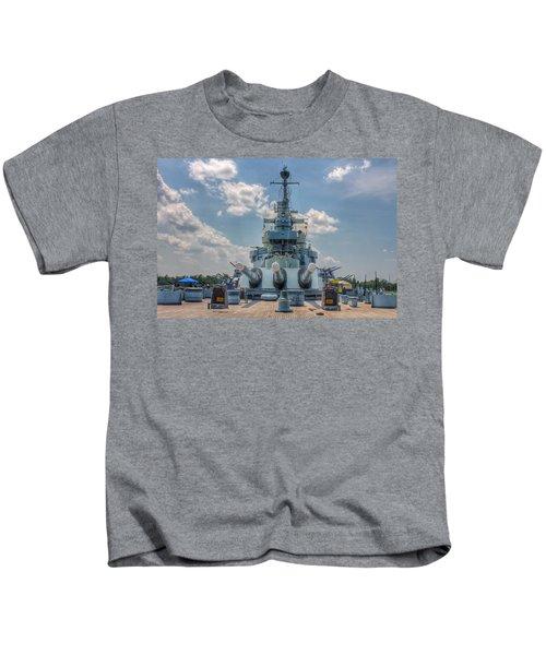 Uss North Carolina Kids T-Shirt