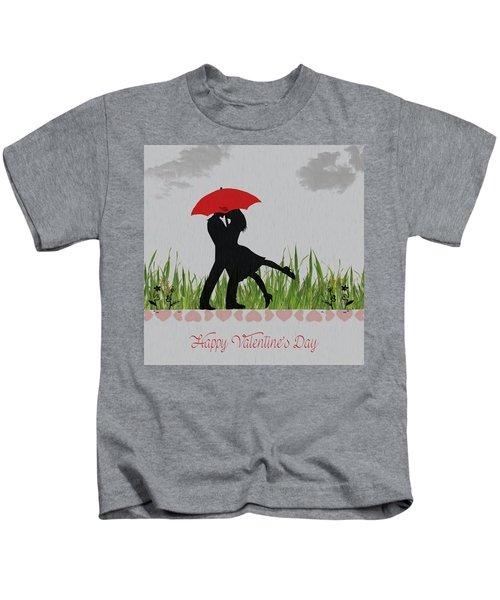 Valentine Card 4 Kids T-Shirt