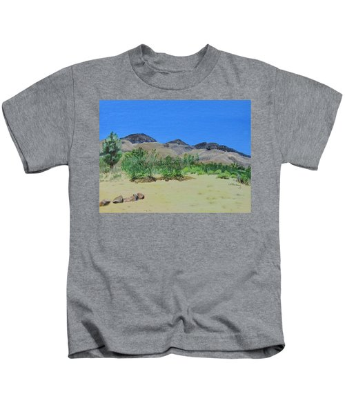View From Sharon's House - Mojave Kids T-Shirt