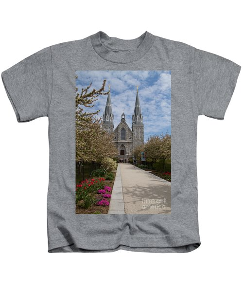 Villanova University Main Chapel  Kids T-Shirt