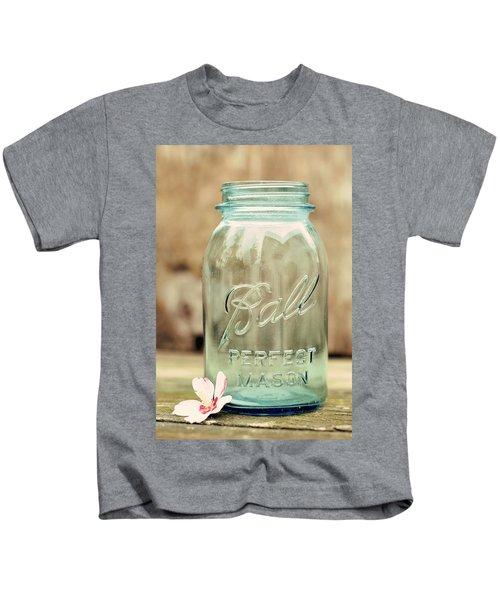 Vintage Ball Mason  Kids T-Shirt