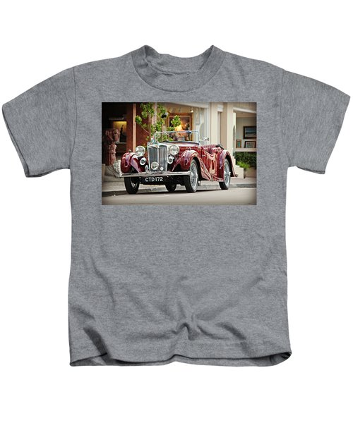 Vintage Mg In Carmel Kids T-Shirt
