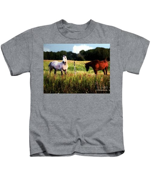 Waiting For Apples Kids T-Shirt