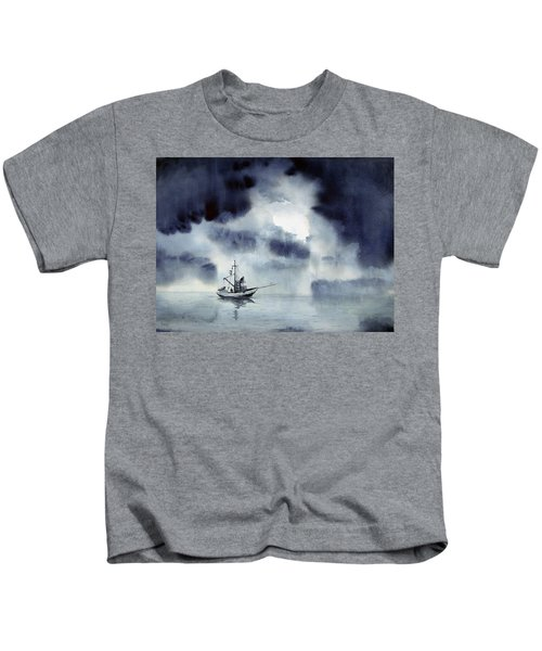 Waiting Out The Squall Kids T-Shirt