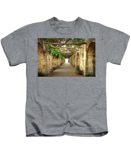 Walk To The Light Kids T-Shirt