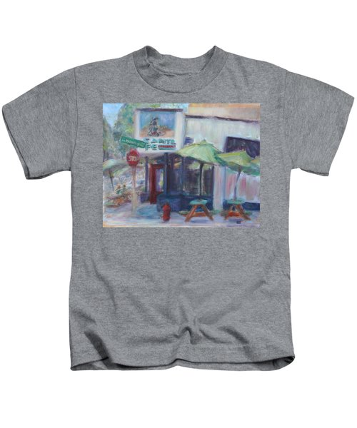 Warm Afternoon In The City  Kids T-Shirt
