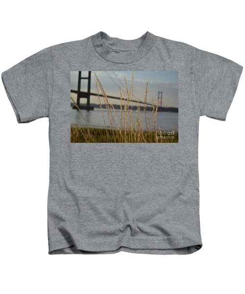 Wasting Time By The Humber Kids T-Shirt