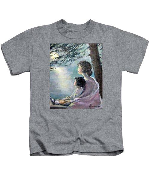 Watching The Moon Kids T-Shirt