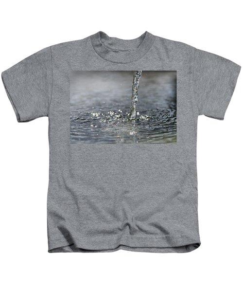 Water Beam Splashing Kids T-Shirt