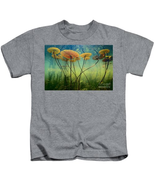 Water Lilies Kids T-Shirt