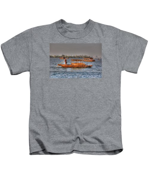 Water Taxi In China Kids T-Shirt
