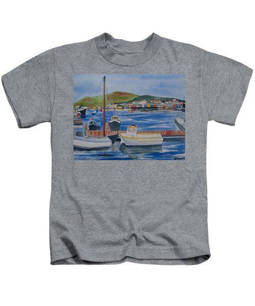 Watercolor - Dingle Ireland Kids T-Shirt